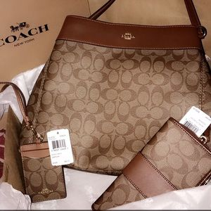 BRAND NEW Coach purse set!